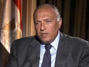 وزير خارجية مصر: نجدد دعمنا للسلطات الانتقالية في ليبيا وإجراء الانتخابات نهاية العام
