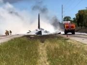 مصرع شخصين إثر تحطم طائرة في فرنسا