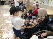 الوفاء للمسنين.. حملة تسلط الضوء على كبار السن في غزة