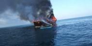 إسرائيل تتهم إيران بتفجير سفينتها في الخليج