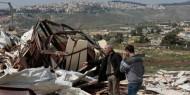 الاحتلال يهدم غرفة زراعية في جنوب بيت لحم