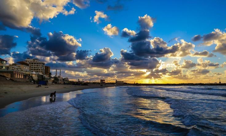 """""""جودة البيئة"""" توجه رسالة مهمة للمواطنين حول تلوث مياه شواطئ غزة"""