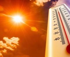حالة الطقس: درجات الحرارة أعلى من معدلها السنوي بقليل