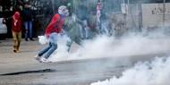 عشرات الإصابات بمواجهات مع الاحتلال في بيت دجن