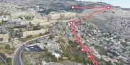 العليا تطالب حكومة الاحتلال بتوضيحات حول مشروع القطار الهوائي