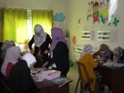 """خاص بالفيديو   فتيات يعانين من الإعاقة السمعية يتعلمن صناعة """"أفلام الكرتون"""" في غزة"""