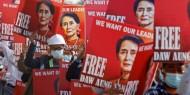 خاص بالصور والفيديو|| ماذا يحدث في ميانمار.. اختفاء زعيمة البلاد المعزولة