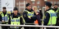 شرطة السويد تفض مظاهرة ضد قيود كورونا في ستوكهولم