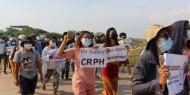 ميانمار: معارضو الحكم العسكري ينظمون إضرابا صامتا