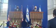 وزير الدفاع الأمريكي يصل دولة الاحتلال لبحث الملف الإيراني والانتخابات