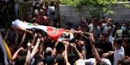 تشييع جثمان الشهيد الطفل سعيد عودة في نابلس