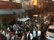 مسيرة حاشدة في نابلس تدين العدوان الإسرائيلي على غزة