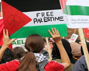 بالصور   تظاهرات حول العالم دعما لفلسطين ضد العدوان الإسرائيلي