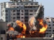 تدمير برج الجلاء وسط غزة