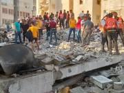 بالفيديو|| انتشال شاب على قيد الحياة من تحت الركام وسط مدينة غزة