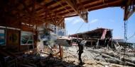 جيش الاحتلال: 62 طائرة محملة بـ110 قنابل استهدفت 65 هدفا في غزة
