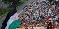 مظاهرات في إندونيسيا رفضا للعدوان الإسرائيلي المتواصل على شعبنا