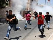 عشرات الإصابات بالرصاص المعدني والاختناق خلال مسيرة بيت دجن