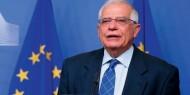 """بوريل: الاتحاد الأوروبي سيعمل مع الولايات المتحدة و""""الرباعية"""" لتسوية الصراع الفلسطيني الإسرائيلي"""