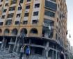 الأشغال العامة تواصل أعمال إزالة برج الجوهرة تمهيدا لإعادة إعماره