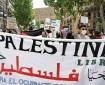 وقفة تضامنية في النرويج نصرة للشعب الفلسطيني