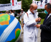 تظاهرة في جنيف للمطالبة بمكافحة التغير المناخي