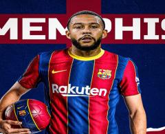 برشلونة يضم الهولندي ممفيس ديباي