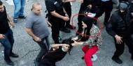 السلطة تقمع تظاهرة في رام الله تطالب بمحاسبة قتلة الناشط بنات