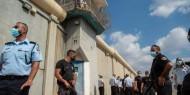 إجراءات أمنية جديدة بحق الأسرى في سجن جلبوع