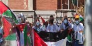 بالصور   الجالية الفلسطينية في بلجيكا تنظم وقفة دعما وإسنادا للأسرى
