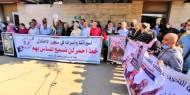 وقفة إسنادية للأسرى المضربين عن الطعام في سجون الاحتلال