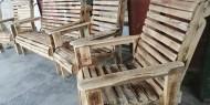 مشغولات خشبية عصرية بأيادٍ فلسطينية